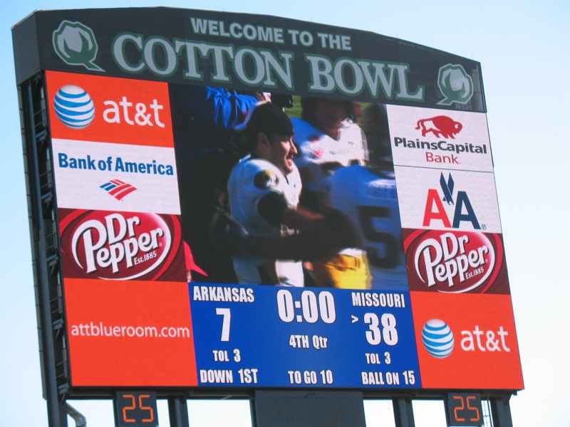 Cotton Bowl Score
