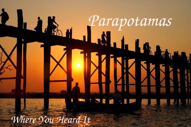Parapotamas Album Cover