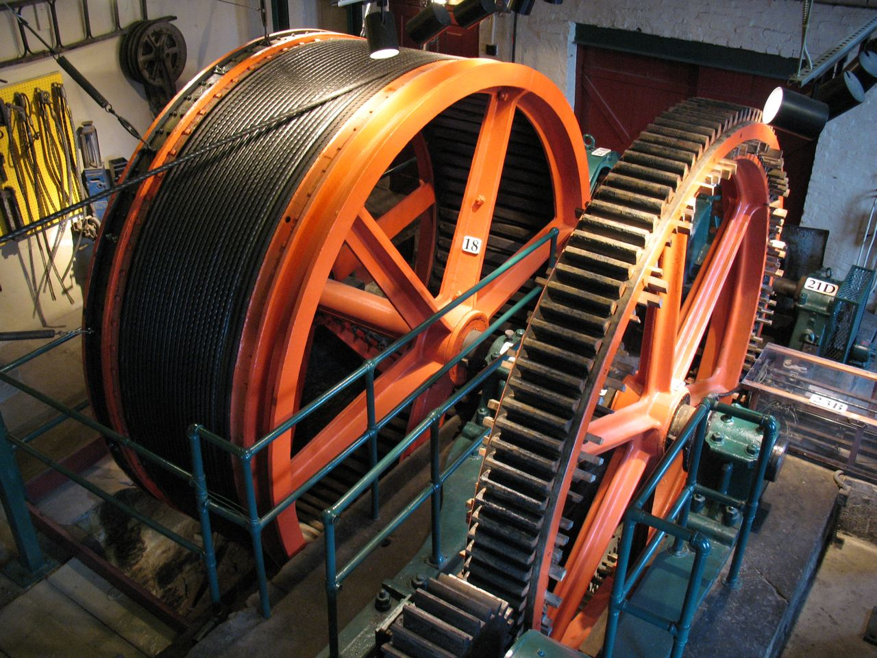 Duquesne Incline - Cable Reel