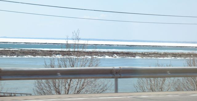 Ice on Lake Erie
