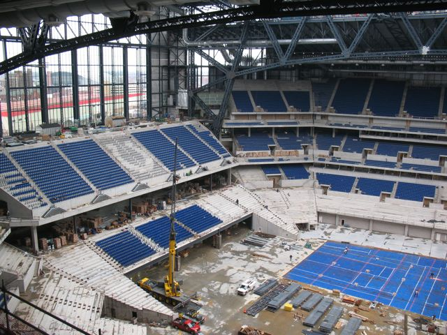 New Colts stadium under construction