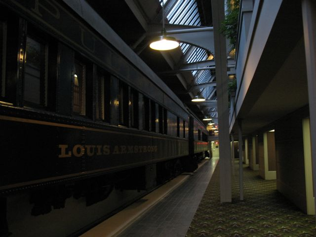 Pullman cars at Indianapolis Union Station