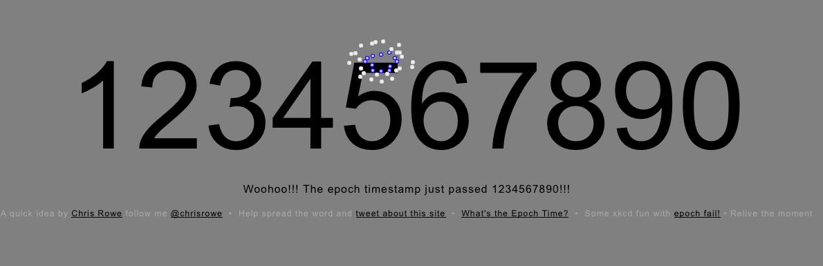 UNIX Epoch Time