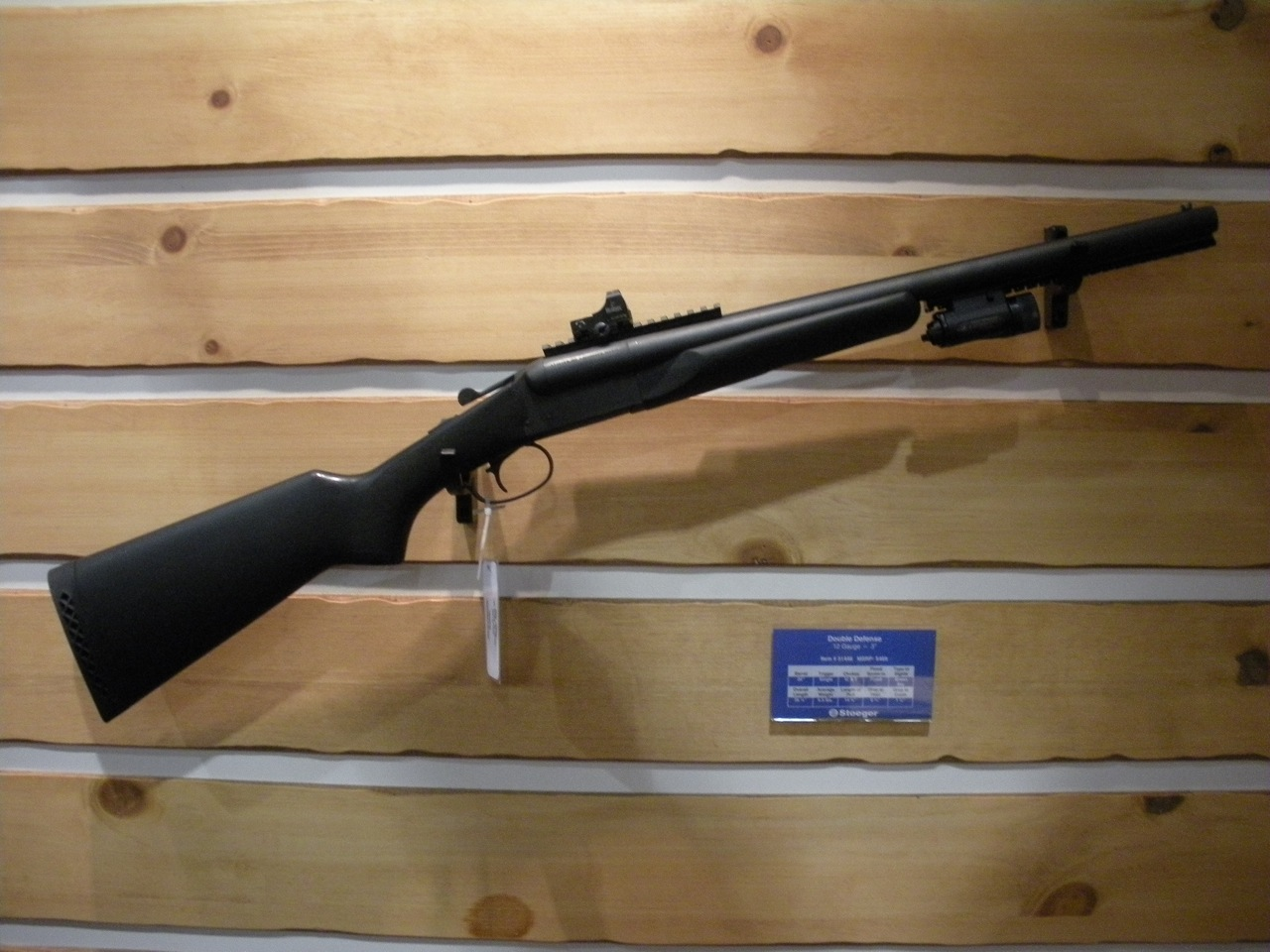 Tactical Double Barrel Shotgun | SnarkyBytes